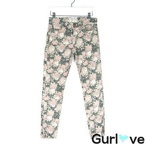Current/ Elliot 25 The Stiletto Floral Skinny Jean